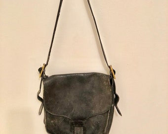 vintage coach leather bag 1970s