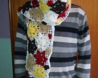 Autumn Accent scarf