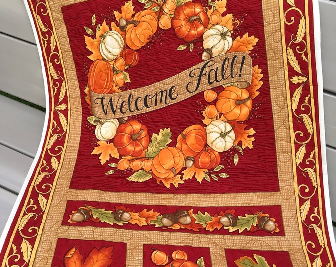 Quilted Fall Panel