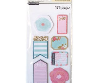 Floral Medium Sticky Notes By Recollections™