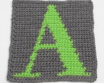Pattern: Crochet alphabet charts