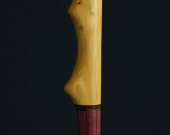 """Purple Heart, Coco Bolo and Torrey Pine Walking Stick  52"""""""