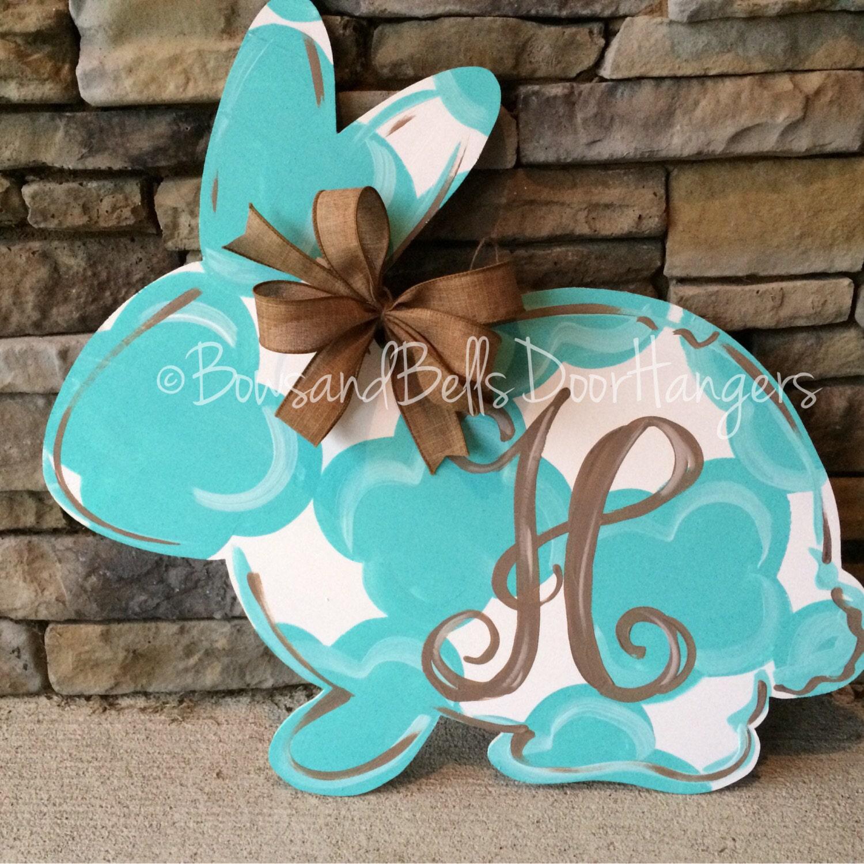 Easter Door Hanger Spring Bunny