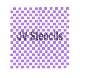 Mini Squares Stencil