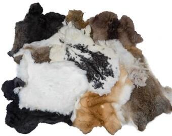 Assorted Rabbit Skins (188-01N)