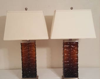 Pair (2) of Table Lamps with Shades