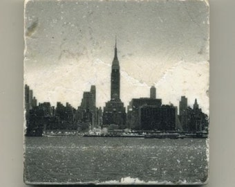 The New York City Skyline - Infrared Original Coaster