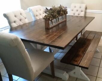 NASHVILLE AREA ONLY - Farmhouse Dining Room Table