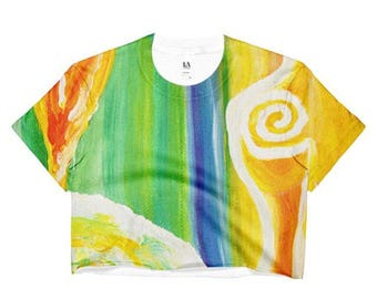 Temple of the Goddess Crop Top