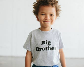 Big Brother Children's t-shirt by The Bee & The Fox