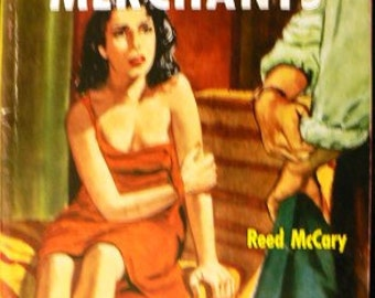 vintage paperback ... The VICE MERCHANTS by Reed McCary  ...