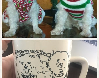 Pups on Cups