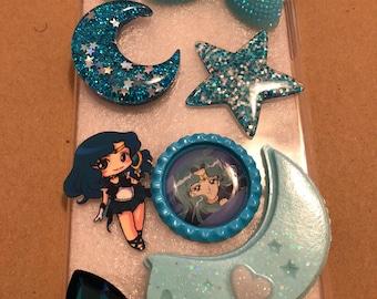 Bling Sailor Neptune Phone Case Layout