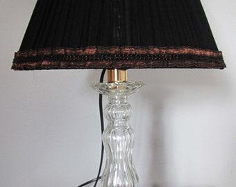 Silk organza lampshade
