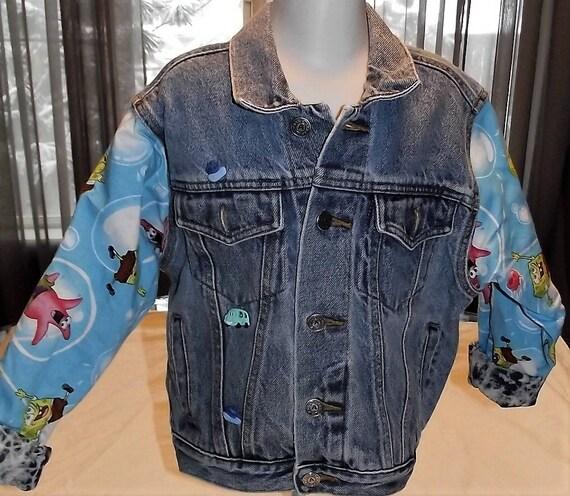 Refurbished Boys Denim Jacket, Size 8