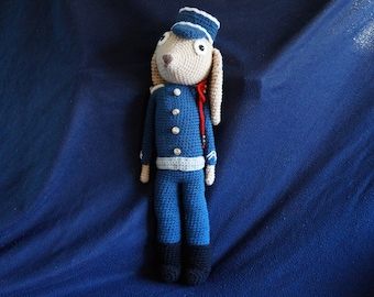 Peter Rabbit Constable crochet