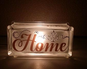 Glass Block Light