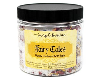 Fairy Tales Bath Salts - Honey Oatmeal