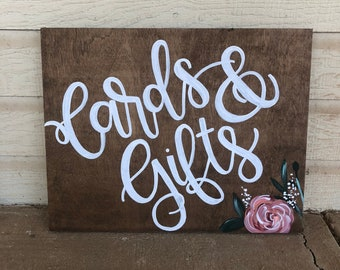 11x14 Hand Painted Wooden Sign