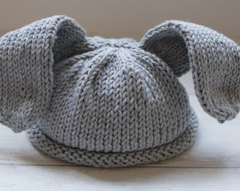 Knitting Pattern Rabbit Hat : Beret knitting pattern knitted hat tam