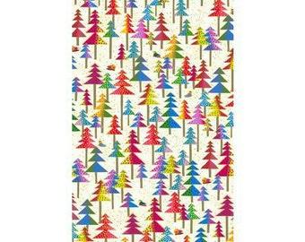 Laurel Burch Fabric Enchantment Trees on Ivory 1 Yard Y1969-57M