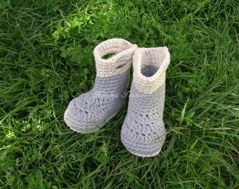 Crochet Fishing Fisherman Boots/Crochet baby booties/rain boots/Boys booties /Crochet boots /Baby booties /Crochet Baby Shoes
