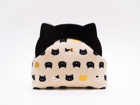 Cat Lover Gift, Cat Clutch Purse, Small Clutch Bag, Resin Frame Clutch Bag, Neko Clutch Wallet, Kawaii Kitties, Animal Purse, Unique Gifts
