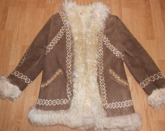 Vintage afghan coat from the seventies(SALE)