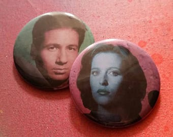 Your choice X Files handmade 2-1/4 inch pinback button pin pins buttons pingame badge badges