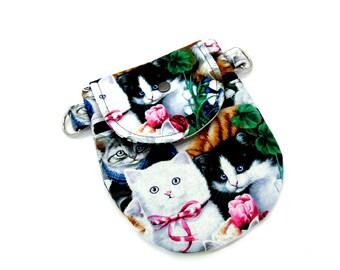 Cats crossbody purse, Crossbody satchel, crossbody bag,  passport purse and small everyday purse.