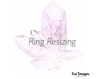 RING RESIZING - For Existing Customers