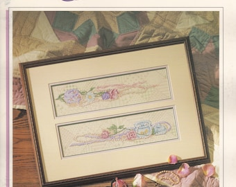Satin Ribbons by Joy Evans Cross Stitch Leaflet