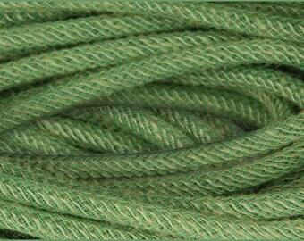 Jute Flex Tubing,  Wreath Tubing, 8mm x 10 Yd, Moss Green Tubing, Craft Supply, 61N8