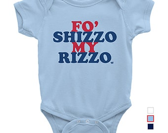 Fo Shizzo My Rizzo - Baby One-Piece - Anthony Rizzo
