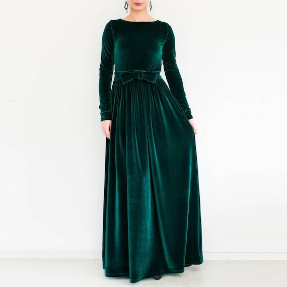 Green Plus Size Dress Erkalnathandedecker