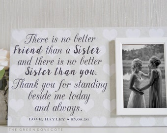 Personalized Gift For Sister - Best Friend Birthday Gift - Unique Wedding Gift For Sister - Best Gifts For BFFS - Gift Ideas For Her