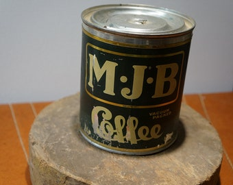 MJB Coffee Tin - 1940s