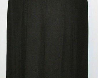 Vintage, Pamela Dennis, black, silk, evening top, and wide leg pants, palazzo pants, Bergdorf Goodman, size 6