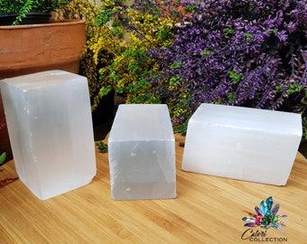 XL Selenite Polished Cubes