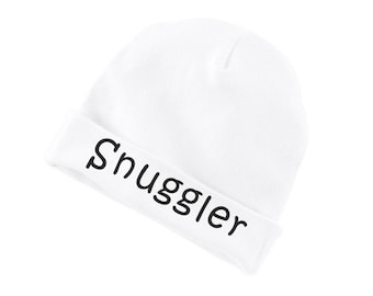 Snuggler Funny Cotton Beanie For Infants