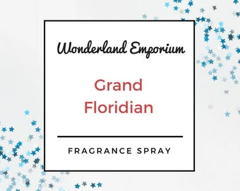 The Grand Floridian - room spray - disney hotel - disney inspired room spray - wdw - grand floridian spray - disney gifts