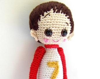 Amigurumi Boy Doll Pattern : Pattern tobias the amigurumi boy doll crochet amigurumi
