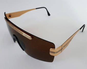 Vintage Vogue VO 3016 shield sunglasses