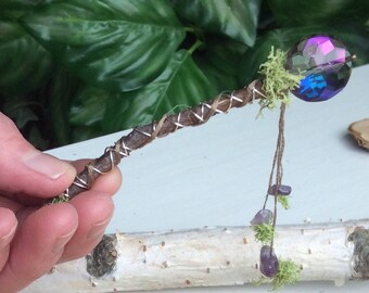 Magic Wand by Olive*, Travel Wand, Fairy Wand, Friendship Wand