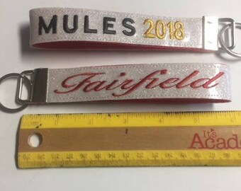 Fairfield MULES keychain FOB