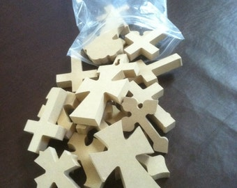 "Bag of Crosses, 50 2 1/2"" x 4""  X 1/4 "". We pick the style and you save, Free shipping. Listed  3-9-12 A"