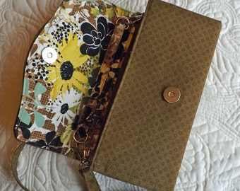 Clutch Wallet, Necessary Wallet, Purse Accessory, Handmade Necessary Clutch Wallet Free Shipping