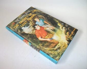 Hardy Boys Hollow Book Safe Secret of the Lost Tunnel Hollowed out Book Secret Stash Compartment Keepsake box