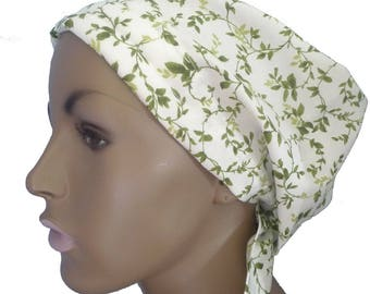 Dainty Leaf Cancer Chemo Scarf Head Wrap Hair Loss Turban Headcovering Bad Hair Day Hat