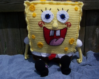 Spongebob Ami Pattern with free Plankton pattern included